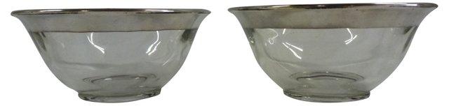 Dorothy Thorpe Bowls, Pair