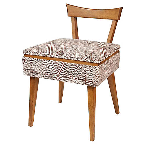 Midcentury Sewing Chair