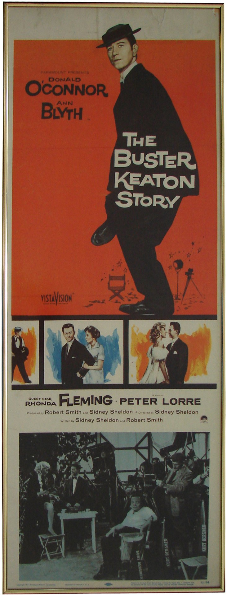 Poster, The Buster Keaton Story