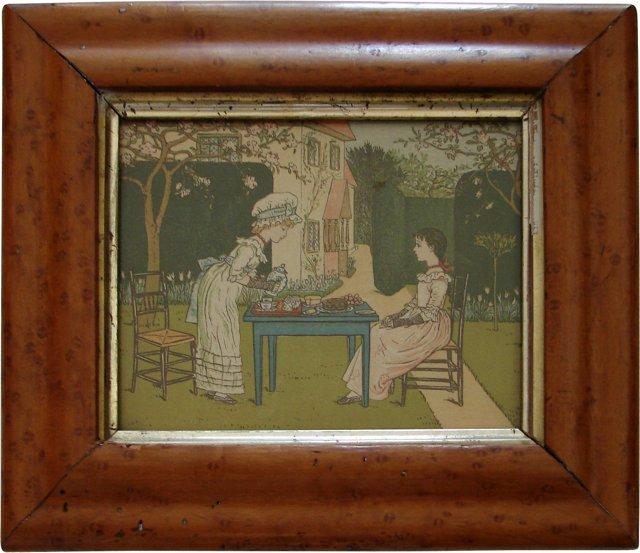 Victorian Tea-Time Print