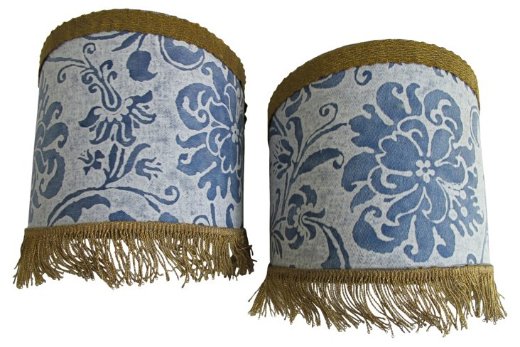 Fortuny Sconce Shades,    Pair