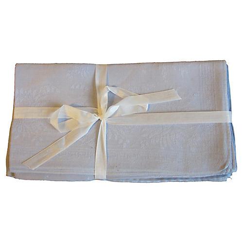 French linen napkins/6