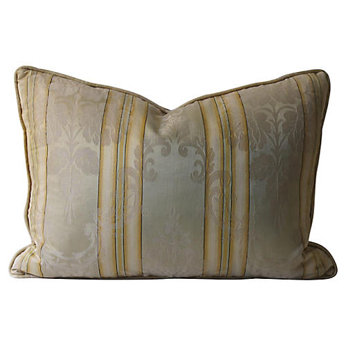 Striped Damask Pillow