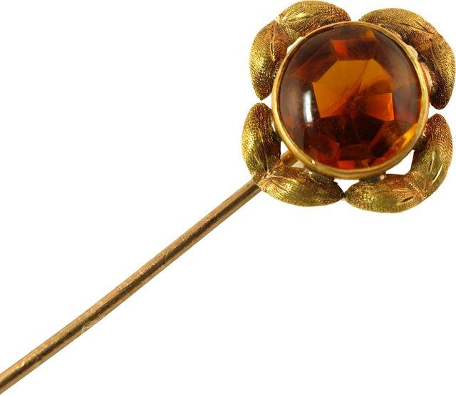 Victorian 10K Gold Stickpin