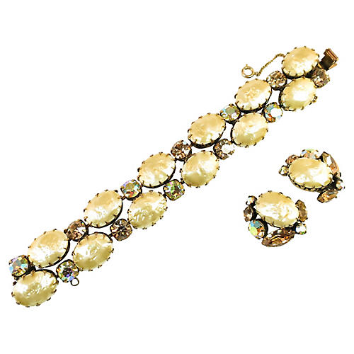 Recency Baroque Pearl Bracelet Set