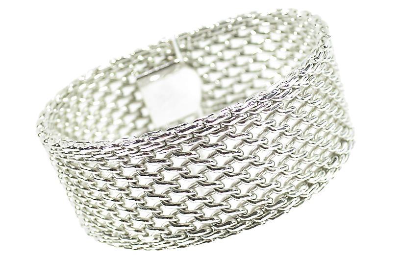 1950s Jacoby Bender Mesh Bracelet