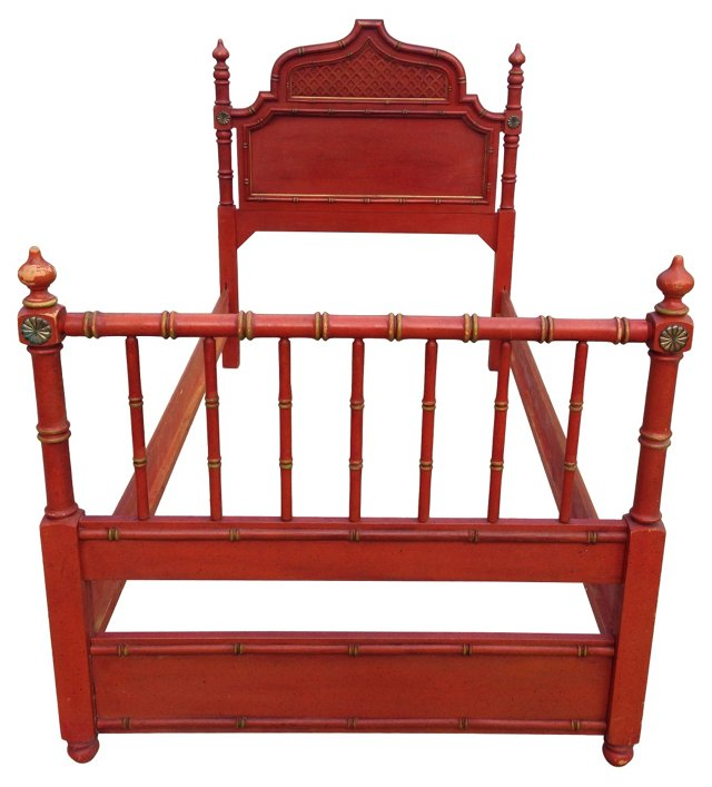 Moroccan-Style Bed, Twin-Size