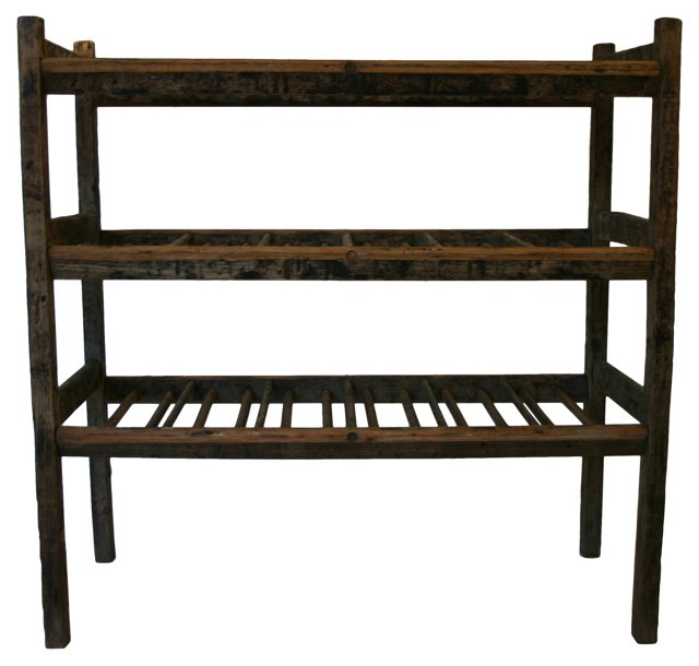 3-Tier Rack w/ Doweling
