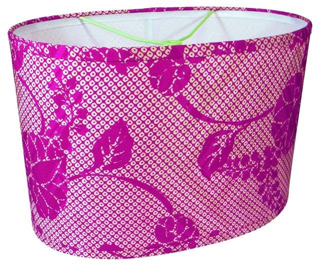 Paulownia Silk Oval Shade