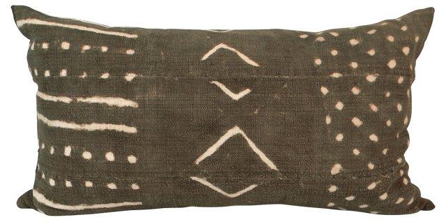 Mud Cloth Lumbar Pillow