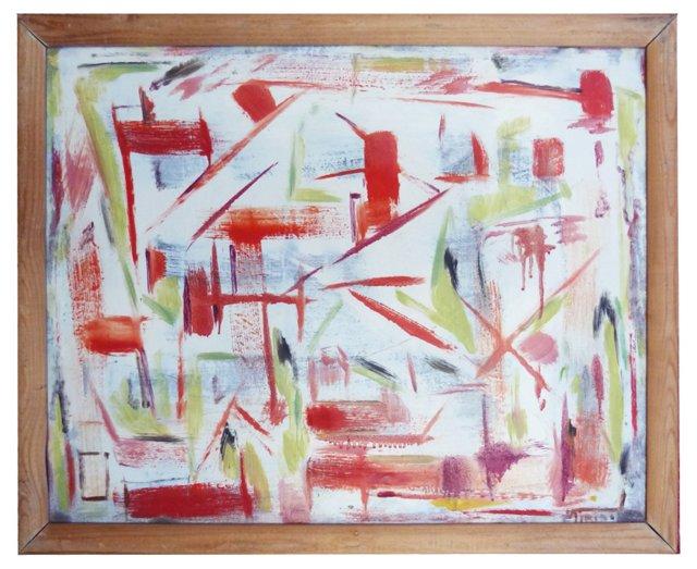 Playful Abstract by Bert Miripolsky