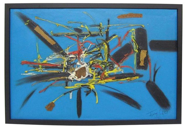 Mixed Media Abstract by Franz Schlitz