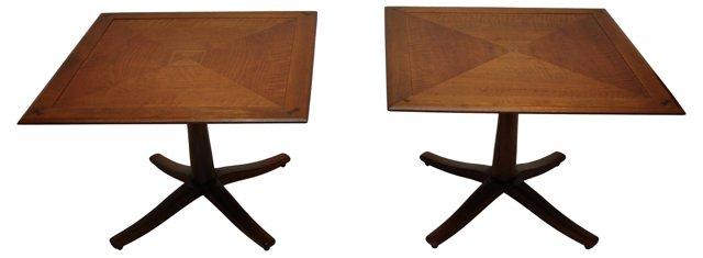 Midcentury Drexel Occasional Tables, Pr