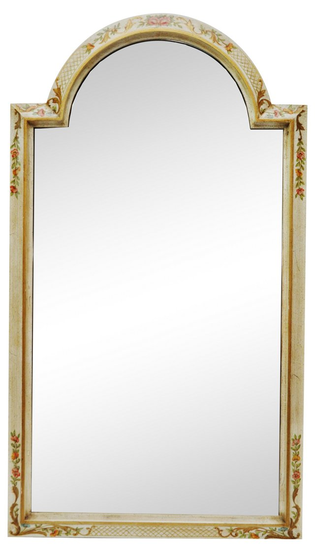 Painted Roses LaBarge Mirror
