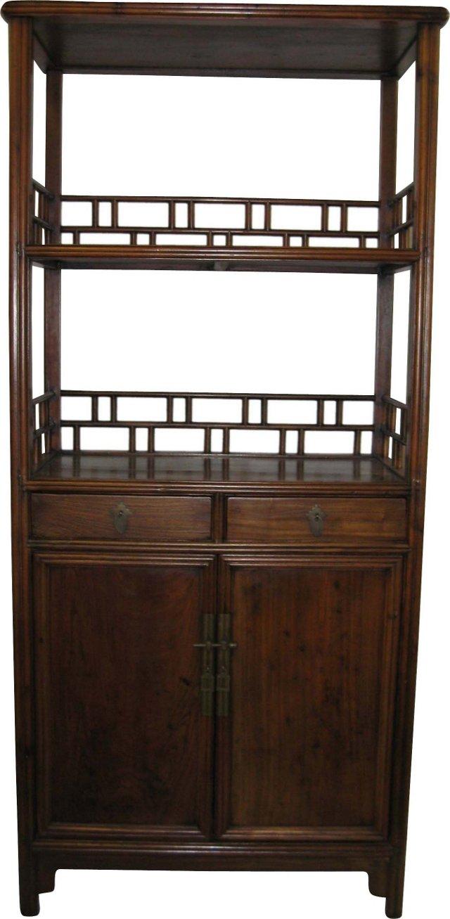 19th-C. Display Cabinet
