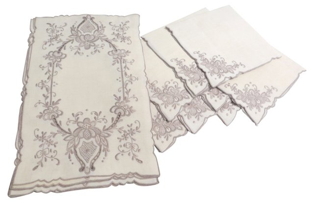 Place Mats & Napkins, Svc. for 8