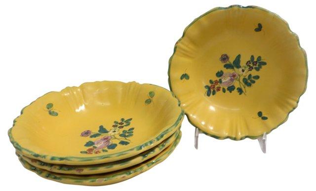Hand-Painted Italian Bowls, S/4