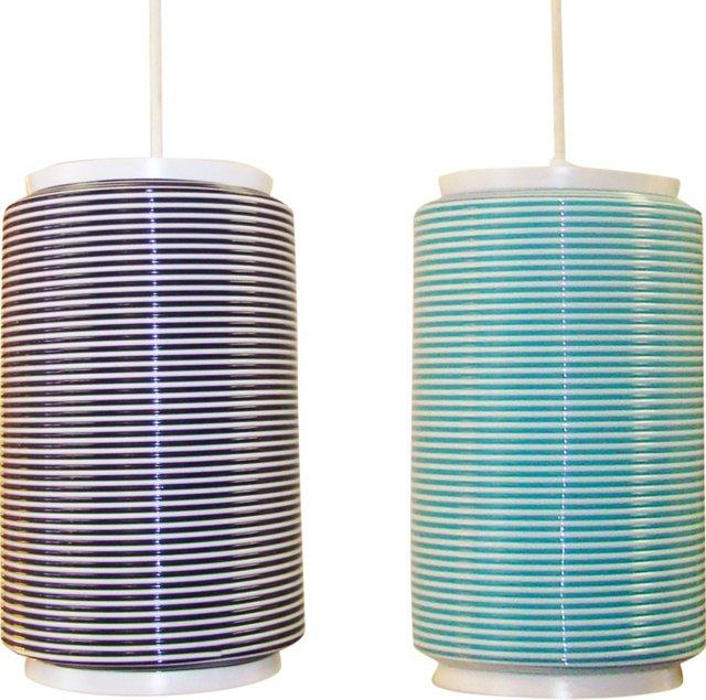 Yasha Heifetz Rottoflex Pendants, Pair