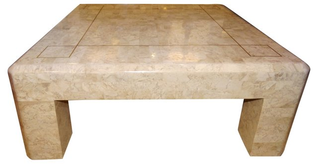 Maitland-Smith Stone Coffee Table
