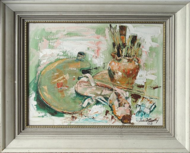 Artist's Still Life by Tom Clancy, 1963