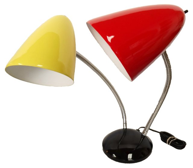 Midcentury Directional Desk Lamp
