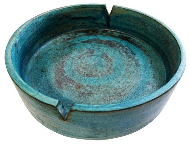 Italian Ceramic Ashtray for Raymor