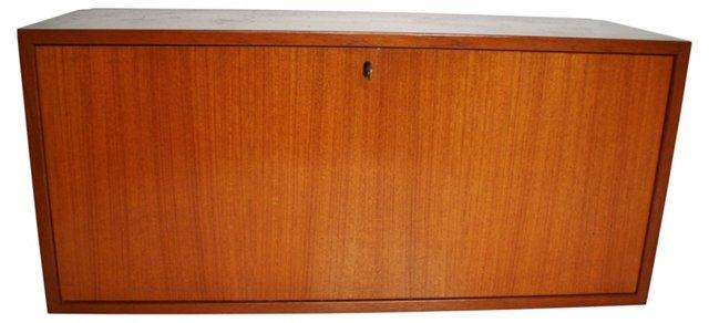 Teak Bar Cabinet