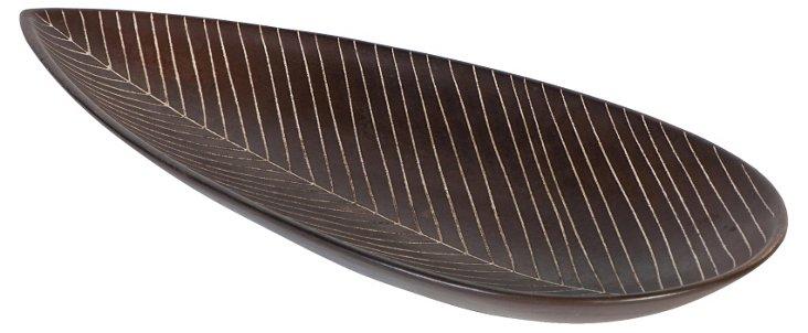 German Midcentury Leaf Bowl