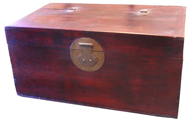 Chinese Cypress Chest