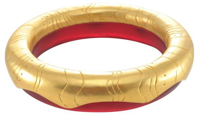 Lagerfeld Bangle Bracelet