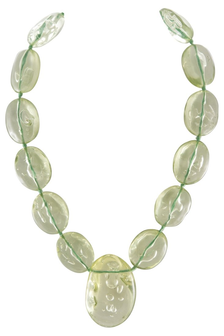 Milanese Lucite Necklace