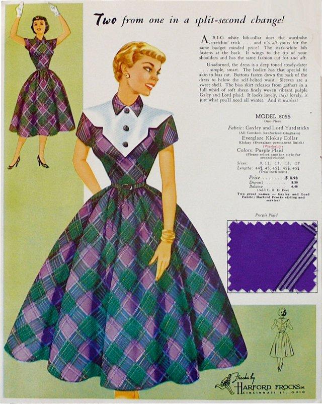 Two-Sided  Fashion Print w/ Fabric