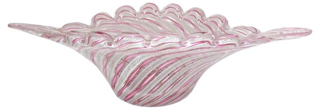 Oversize Murano Centerpiece Bowl