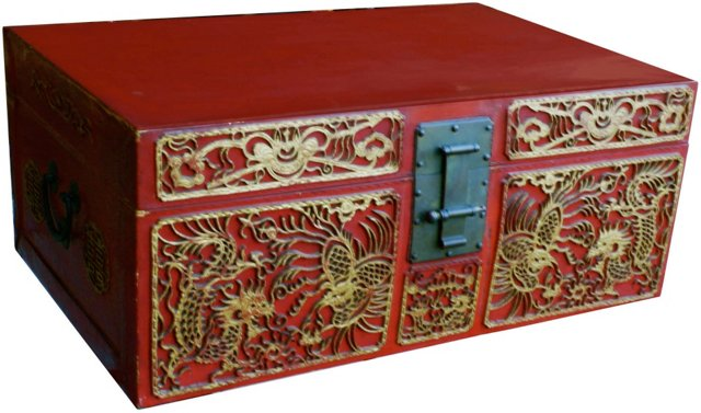 Antique Chinese Trunk