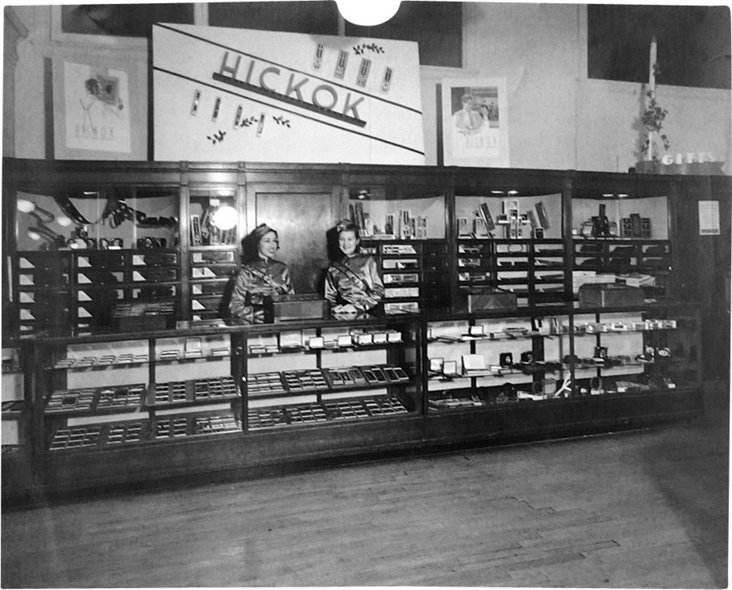 1930s Hickock Store Display Photo