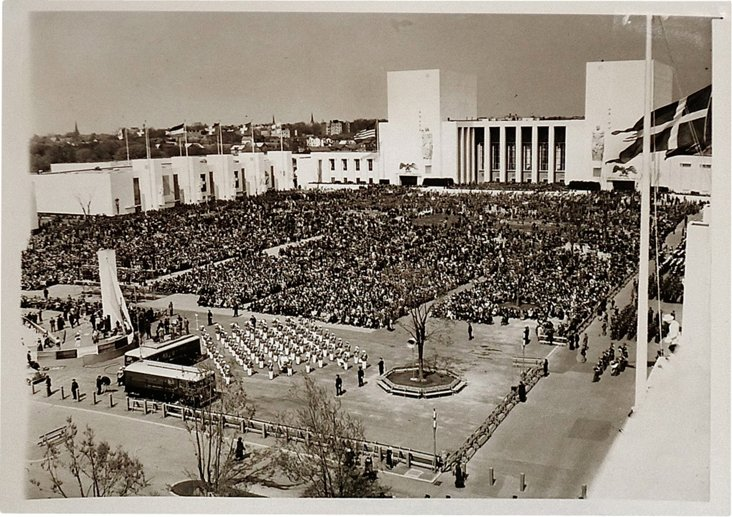 Opening Ceremony NY World's Fair, 1940