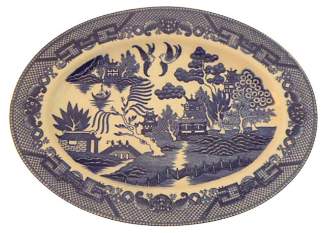 Blue Willow   Platter