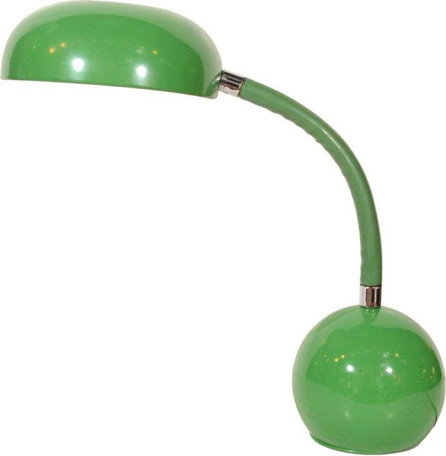 1970s Kelly Green Desk Lamp