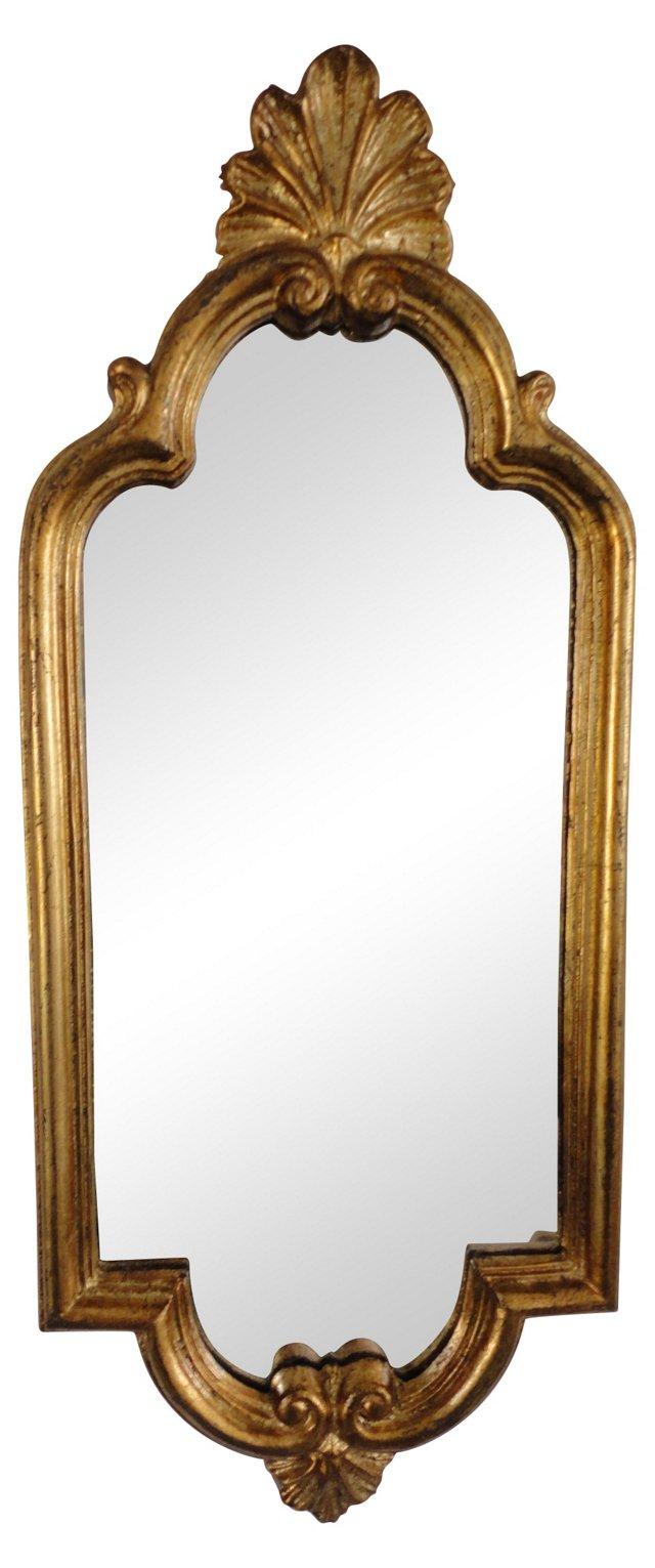 Italian Gilt Accent Mirror