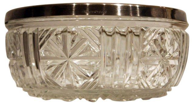 English Glass Bowl