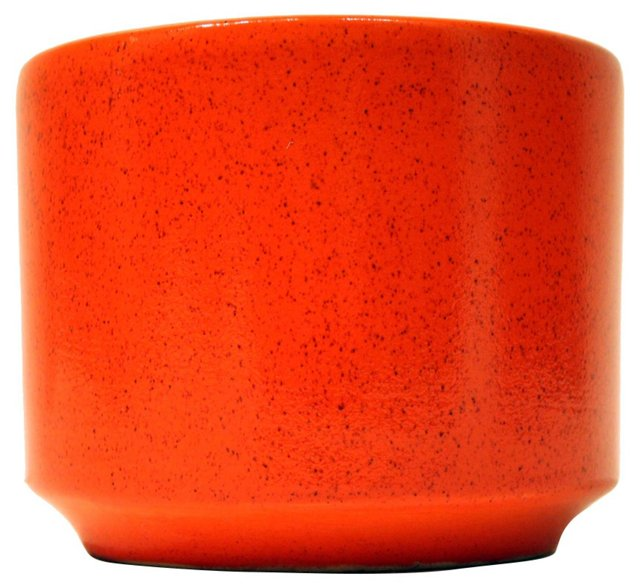 Orange Gainey Planter