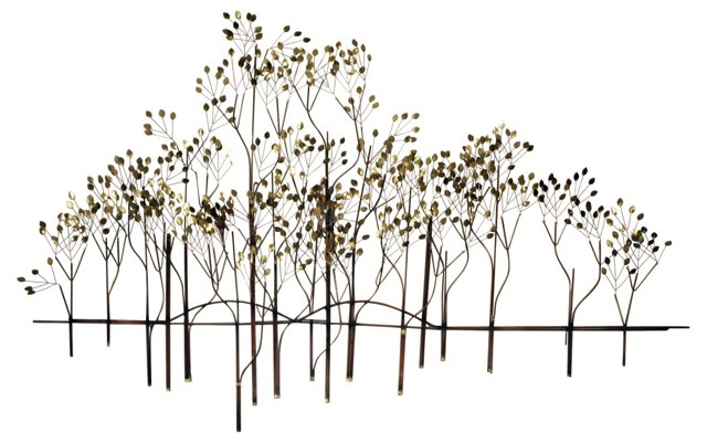 Trees Wall Sculpture