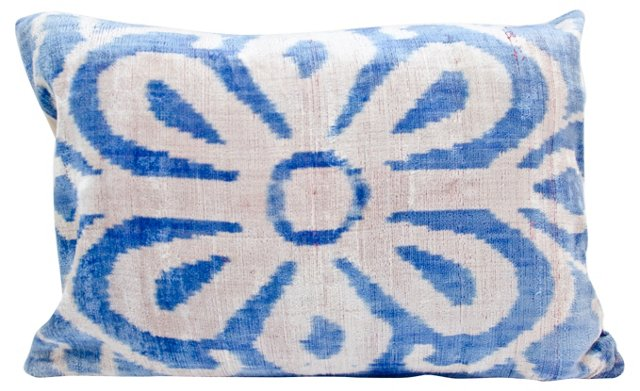 Flower Ikat Pillow Sham