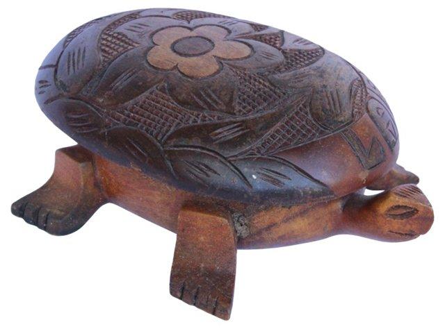 Wood Turtle Box
