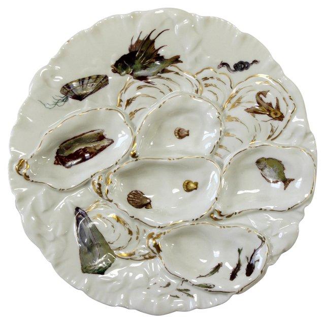 Haviland Oyster Dish