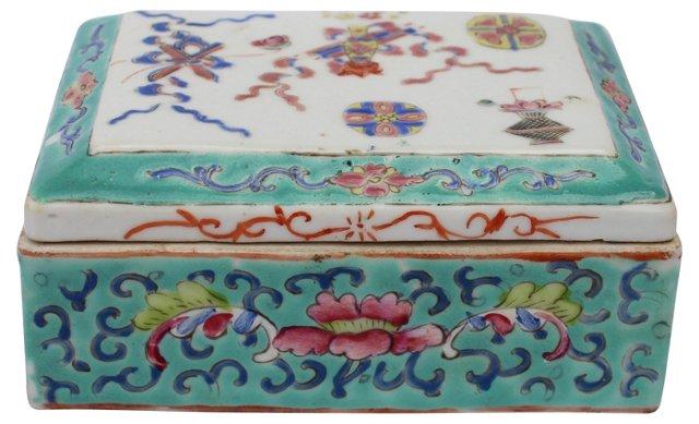 Hand-Painted Chinese Box