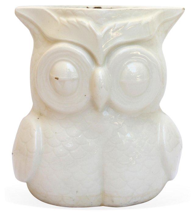White Owl Planter