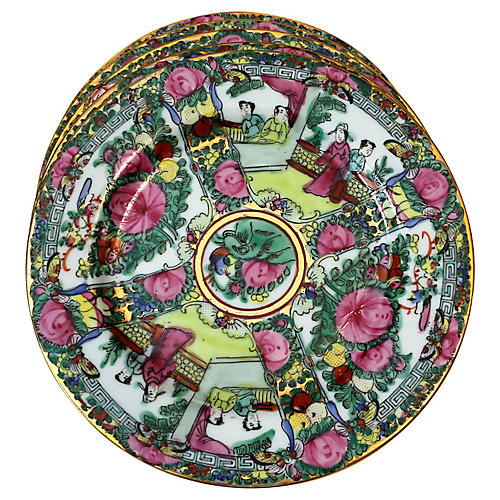 Famille Rose Plates, S/5