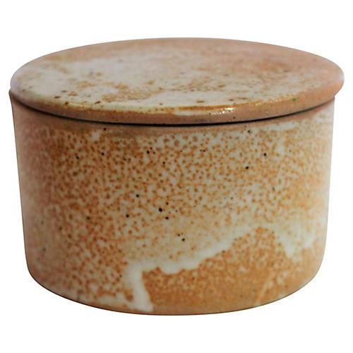 Earthenware Butter Keeper S/2