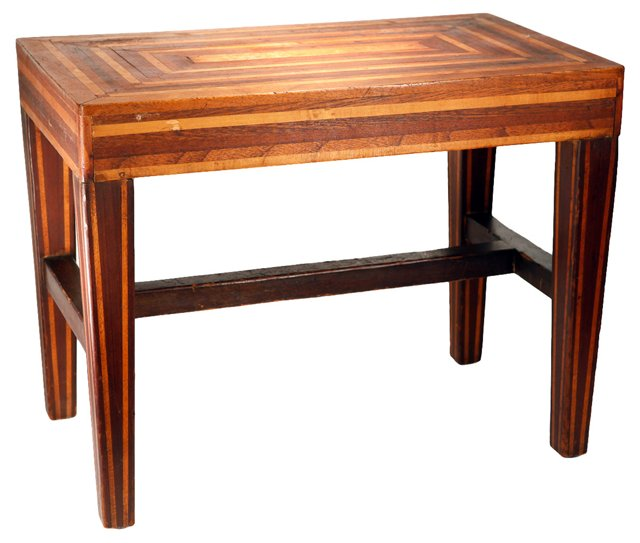 1920s Parquetry Table